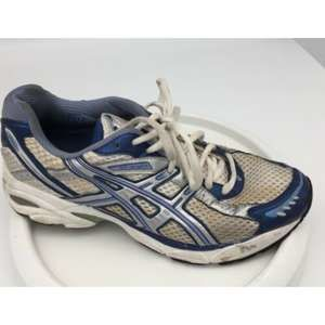 Womens Running Shoes Asics GT White/ Silver 7.5